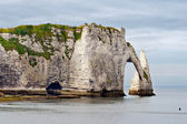 Cliffs of Etretat, Normandy, France — Stock fotografie