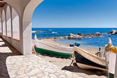 Archs in Calella de Palafrugell, Costa Brava, Catalonia, Spain — Stock Photo