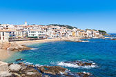 The village of Calella de Palafrugell (Costa Brava, Catalonia, S — Stock Photo