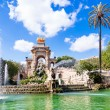 Fountain of Parc de la Ciutadella, in Barcelona, Spain  — Stock Photo