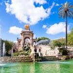 Fountain of Parc de la Ciutadella, in Barcelona, Spain — Stock Photo #26842389
