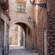 Stock Photo: BarcelonGothic quarter