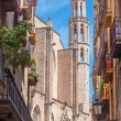 Santa Maria del Mar Church in Barcelona — Stock Photo