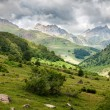 Stock Photo: Pyrenees mountains landscape in Huesca, Spain
