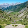 Prehistoric Tumulus in the Spanish Pyrenees — Stock Photo