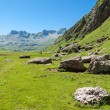 Beautiful view of Echo's Valley in the Spanish Pyrenees — Stock Photo