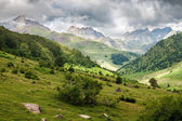 Pyrenees mountains landscape in Huesca, Spain — Stock Photo
