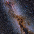 The Glorious Summer Milky Way — Stockfoto