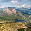 Stock Photo: Mallos of Riglos panoramin Huesca, Spain