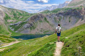 Trekking in the Spanish Pyrenees — Stock Photo