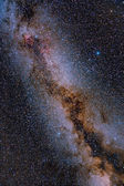 The Glorious Summer Milky Way — Stock Photo