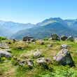 Prehistoric Cromlech in the French Pyrenees — Stock Photo