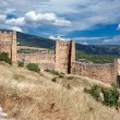 Loarre Castle in Huesca, Aragon, Spain — Stock Photo