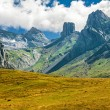 French Pyrenees Range of Peaks — Stock Photo