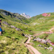 Trekking in the Spanish Pyrenees — Stock Photo #36512959