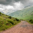 Stock Photo: Path crossing beautiful lanscape in Pyrenees