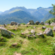 Stock Photo: Prehistoric Cromlech in French Pyrenees