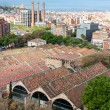 View from top of Columbus Statue in Barcelona — Stock Photo #46412379