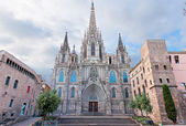 Cathedral of Barcelona, Catalonia — Stock Photo