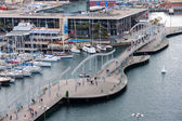 BARCELONA, SPAIN - MAY 2: Port Vell on May 2, 2014 in Barcelona. — Stock Photo