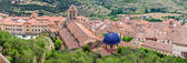 Morella Aerial View from Top of the Castle — Stock Photo