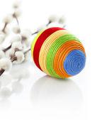 Uovo di pasqua colorato — Foto Stock