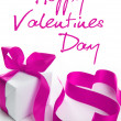 Foto Stock: Valentine hearts - greeatings