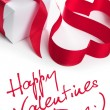 Stock Photo: Valentine hearts - greeatings