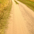 Road in field — Stock Photo