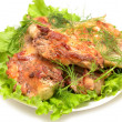 Rabbit meat — Stockfoto