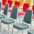 Stock Photo: Multicolored chairs