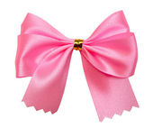 Pink bow — Stock Photo
