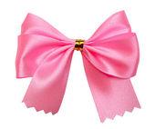ピンクの弓 — ストック写真