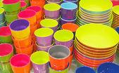 Plastic utensil — Stock Photo