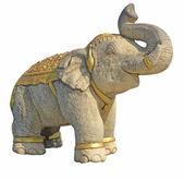 Stone elephant — Stock Photo