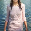 Stock Photo: Wet dress