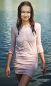 Wet dress — Stock Photo