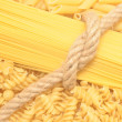 Raw pasta — Stock Photo