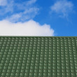 Roof and sky — Stock Photo