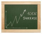 Zakelijke grafiek — Stockfoto