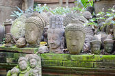Buddha heads — Stock Photo