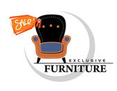 Sale_furniture — Stock Vector