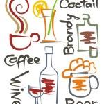 Beverages — Stock Vector #8814497