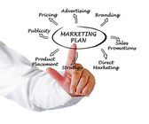 Presentation of marketing strategy — Stock Photo