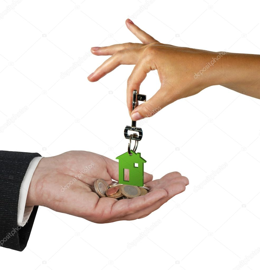 Hand with key — Stock Photo #12024505