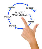 Project management — Stock Photo