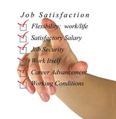 Jod satisfaction list — Stock Photo