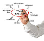 Team values and norms — Photo