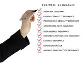 Check list for business insurance — Photo