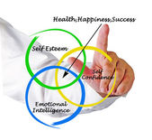 Sources of health, happiness, and success — Stock Photo
